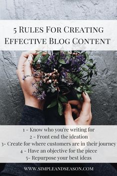 5 Rules For Creating Effective Blog Content #blogging Business Articles, Business Tips, Creative Business, Online Marketing, Marketing Ideas, Marketing Calendar, Content Marketing Strategy, Blog Tips, Storytelling