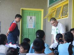 Yvan Pagulayan Lions Club (Philippines) | The club held Sights for Kids Project 2013 wherein  70 pupils from 14 public schools benefited