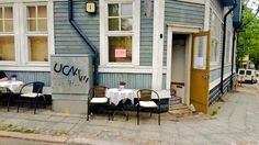 Vallilan pop-up -kahvila, Helsinki Helsinki, Finland, Pop Up, Shed, Outdoor Structures, Patio, Country, Outdoor Decor, Summer