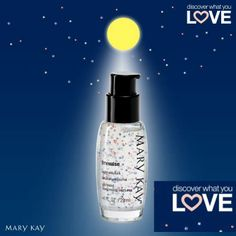 Mary Kay Timewise Night Solution.  MK has you covered overnite ; ) To discover, contact me @: www.marykay.com/LaShon