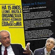 Blog do Alex : Há 15 anos atrás, Brizola pedia afastamento de Eduardo Cunha !