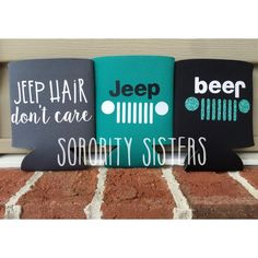 Jeep Collection Insulated Drink Sleeve  Jeep by SororiitySiisters