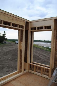 Posts about deep wall system written by kent Framing Construction, New Home Construction, Building A Shed, Building A New Home, Shed Design, House Design, Design Case, Structural Insulated Panels, Cabin House Plans