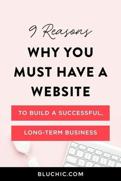 Here's why your business needs a #website! Small Business Marketing, Marketing Plan, Online Marketing, Content Marketing, Media Marketing, Marketing Strategies, Digital Marketing, Business Planning, Business Tips