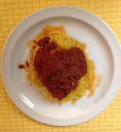 "Medifast Lean & Green Crockpot Chicken Parm With Spaghetti Squash - YUM!  What a great ""comfort"" food recipe for a cold winter's day! And the best news?? It's on plan! #TSFL #TakeShapeForLife #dinner #recipe #health"