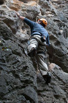 Rock Climbing in Yangshuo China