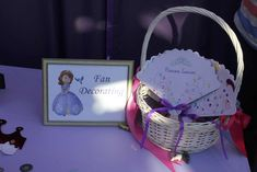 Princess Sofia Birthday Party Ideas | Photo 6 of 18 | Catch My Party
