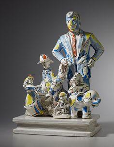Viola Frey recent work | Nancy Hoffman Gallery