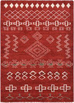 Red 4' 5 x 6' 2 Tangier Rug | Area Rugs | eSaleRugs