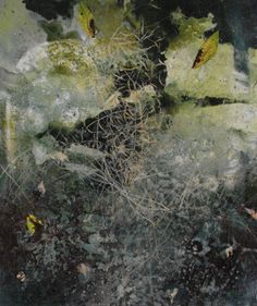 46. Michael Porter. This image is discussed in our eBook 'Creating a sensational portfolio' helping you into art college. www.portfolio-oomph.com British artist respecting the tradition of landscape painting whilst reinventing it by means of innovatory techniques and personal vision.