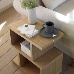 Love multitasking end tables -perfect for a book, a cup of coffee and me