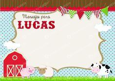 Tarjetas de cumpleaños de la granja - Imagui