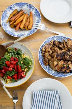 Marshalls Abroad: Life Around the Table: Sweet Garlic & Herb Grilled Chicken