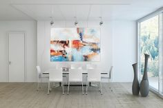 Öl Gemälde 'Way to Go' 180x120cm