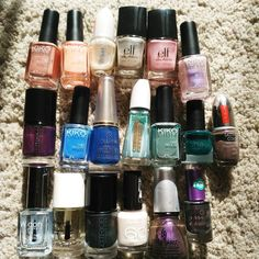 Makeup declutter: nail polishes that i don't like or use  #nails #notd #nailart #bbloggers #ibbloggers #cosmetic #cosmetics #polish #nailpaint #nailpolish #nailpainting #nailart #bbloggers #ibbloggers #cosmetic #cosmetics #polish #nailpaint #nailpolish #nailpainting #nailart
