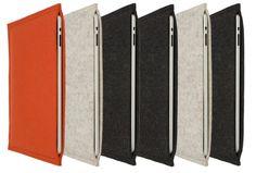 Elegant Handmade Sleeves For the iPad and MacBook Air