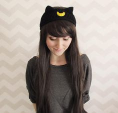 For #BlackCatDay...or any chilly day, these cat ear warmers are adorable for the winter season! #scottsmarketplace