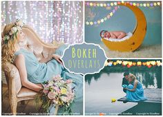 45 Bokeh Photo Overlays by ElyseBear on Creative Market