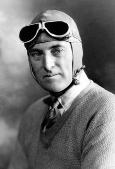Sir Malcolm Campbell set various speed records.