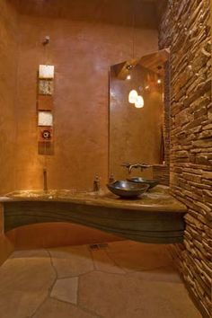 Home Ideas On Pinterest Hacienda Style Stone Shower And