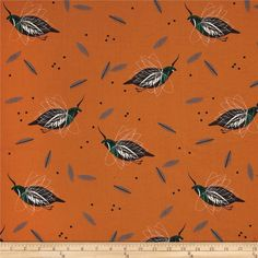 Birch Organic Charley Harper Western Birds Mountain Quail Multi from @fabricdotcom  Designed by Charley Harper for Birch Organic, this this GOTS certified organic cotton print fabric features colorful birds. Perfect for quilting, apparel and home decor accents. Colors include rust, forest green, white, black and shades of grey.