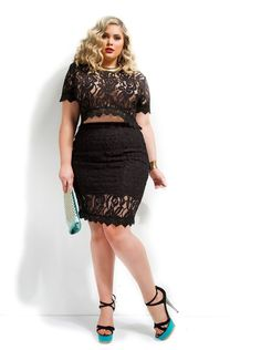 5 ways to combine plus size sexy tops - plus size fashion for women