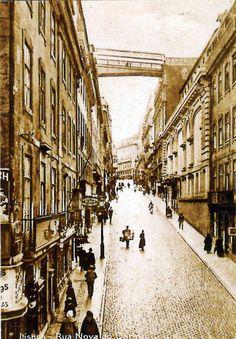 Lisboa de Antigamente: Rua do Carmo que foi Calçada do Rubim