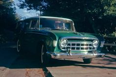 1956 Hudson Rambler station wagon