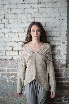 Yaw pattern by Norah Gaughan from her finale book for Berroco. I will be knitting this soon!