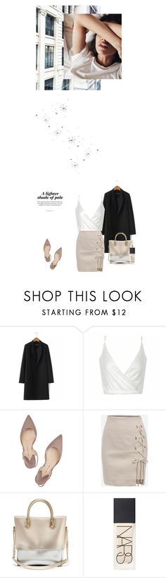 """""""Fill my Template ✧"""" by pamelagonzales ❤ liked on Polyvore featuring Ally Fashion, Paul Andrew, Kartell and NARS Cosmetics"""
