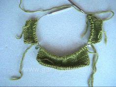 DROPS Knitting Tutorial: How to knit a raglan