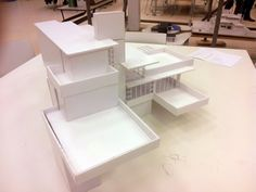 Maquette ''Falling Water'' F.L. Wright_2