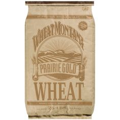 $13.98 Wheat Montana: Prairie Gold Hard White Spring Wheat, 25 lb