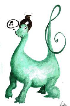 Di No Yo Ma. Originals, Dinosaur Stuffed Animal, Bob, Christmas Ornaments, Holiday Decor, Drawings, Animals, Bucket Hat, Animaux