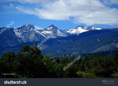 The Bitterroot Mountain range provides a beautiful background for farms and ranches in Montana. ©Photo copyright by Marty Nelson. Photographer website: http://www.shutterstock.com/cat.mhtml?gallery_id=1131029