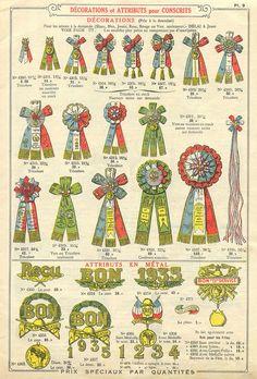 Drapeaux Articles de fêtes Tarif No. 14, 1934 (Maison Paulus-Recht) p. 9