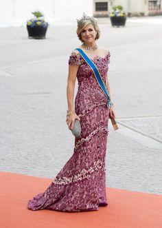 Jan Taminiau-Maxima bij huwelijk Zweedse prins