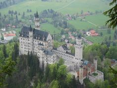 As Fantasy Castles go, the sheer size and scale of Neuschwanstein is breathtaking. Credit: Jeff Wilcox