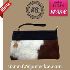 Bolso de piel con estampado de potro y franja negra ★ ahora solo 14'95 € ★ Compra en https://www.conjuntados.com/es/bolsos/bolsos-de-mano/bolso-de-piel-con-estampado-de-potro-y-franja-negra.html ★ #rebajas #sales #soldes #rabatte #rebaixes #deskontuak #vendas #sconti #bolso #bolsobandolera #bag #animalprint #conjuntados #conjuntada #lowcost #accesorios #complementos #moda #fashion