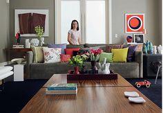 sofa cinza chumbo - Google Search