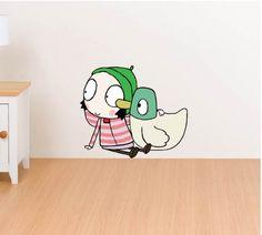 Sarah & Duck Character 3206 | Legends Wall Art