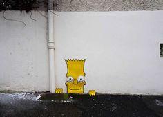 Bart simpson - #StreetArt