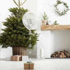 Balloon as Christmas Home Decor Idea - Yesss :) #ad #christmasdecor