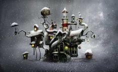 Mystical Illustations by Alexander Jansson | Cuded