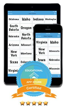 The Study Flash app is now 5 Star Certified by the Educational App Store (EAS) !                                             With it you can make your own flashcards for your iPhone or iPad and practice whenever and where ever you like. Great for students and teachers. Study during your train or bus commute. Include Pictures or Audio. Appropriate for any school curiculum or level of learning. Educational Institution discount available.