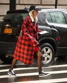 New York Fashion Week Fall 2017 Street Style by Leo Faria