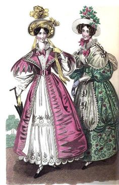 Fashion for Summer 1832