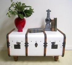Painted & Repurposed Furniture - Porta verde studio