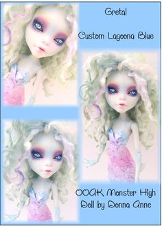 Lagoona Blue repaint Coming to eBay in August 2013 Fantasy-dolls-by-donna-anne