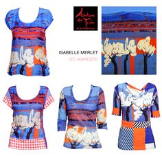 "AVENTURES DES TOILES #ss2014 on  #sale at www.rosapiuma.com! ENJOY 30% OFF printed tops and blouses inspired by Isabelle Merlet's paint ""Les Amandiers""! SHOP NOW at http://www.taglieconformate.com/shop/en/search?controller=searchorderby=positionorderway=descsearch_query=les+ama #artandfashion   #pretaporter   #art   #paint   #paintings   #casualwear   #tops #tees   #tshirts   #teeshirts   #saldi   #summersale   #soldes   #rebajas   #brightcolors   #fluo"